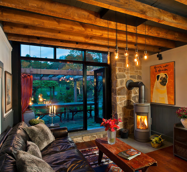 Rustic Home Decor Cabin Mountain Living Rooms